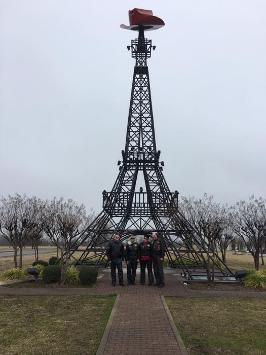 H.O.G. chapter ride to Paris Tx led by John Mills