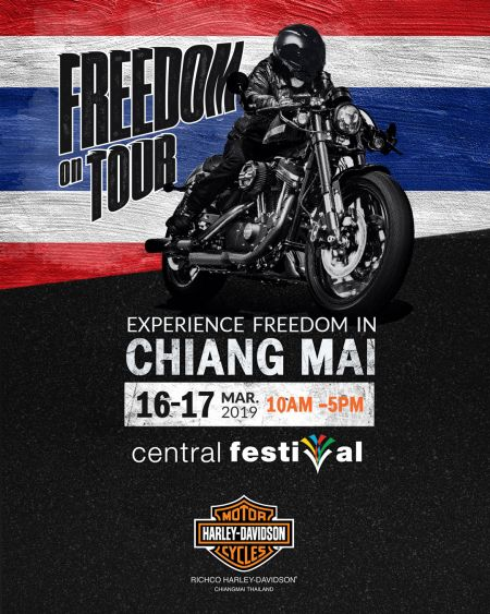 Freedom On Tour Comes to Chiang Mai, Thailand