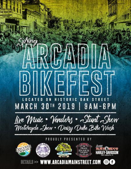 Spring Arcadia BikeFest 2019