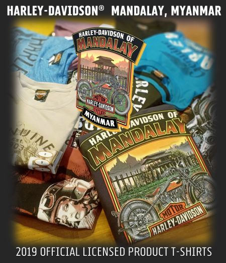 2019 HARLEY-DAVIDSON® OFFICIAL LICENSED PRODUCT COLLECTION T-SHIRTS.
