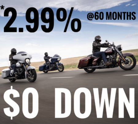 PVHD LOW APR & $0 DOWN PROMO   FEBRUARY 10TH - MARCH 23RD, 2019