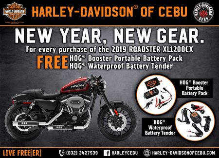 ROADSTER 2019 PROMO NEW YEAR PROMO