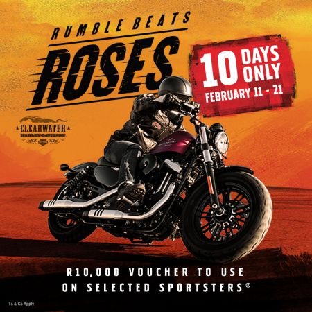 RUMBLE  Beats Roses 10 Day Sportster Promo add-on