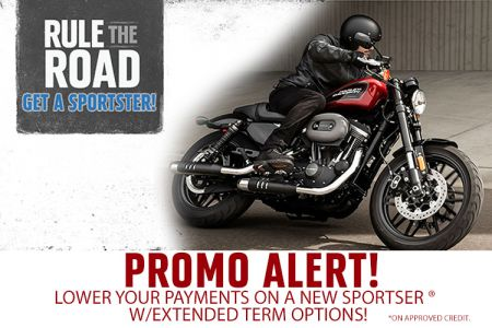 Rule The Road. Get a Sportster!