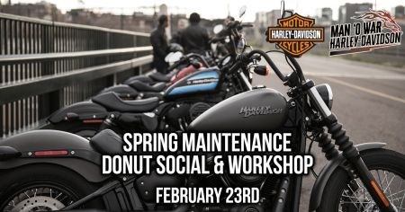 Spring Maintenance Donut Social & Workshop