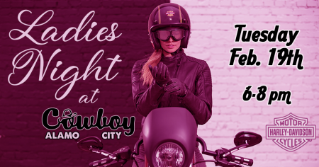 Ladies Night at Cowboy's Alamo City Harley-Davidson
