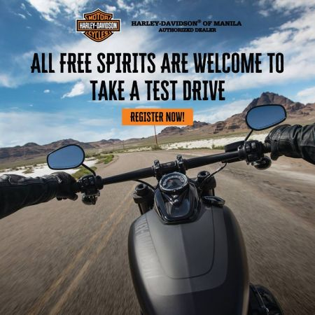 HARLEY-DAVIDSON OF MANILA FREE TEST RIDE - 3RD HAMAKA MOTORCYCLE SHOW FEBRUARY 15, 2019