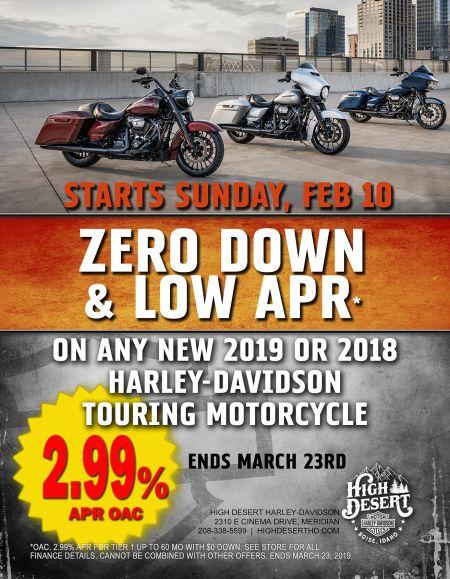 Zero Down & LOW APR*