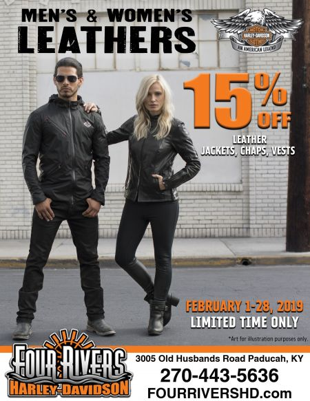 MEN'S &  WOMEN'S LEATHERS