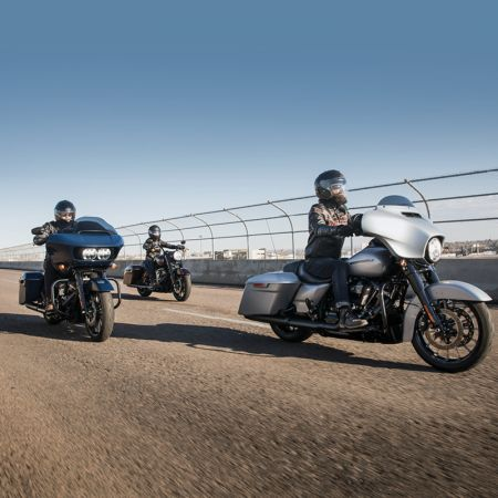 Limited time rates as low as 0.99% on NEW Touring & Softail Models!