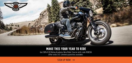 Riding Academy Enrollment Promotion