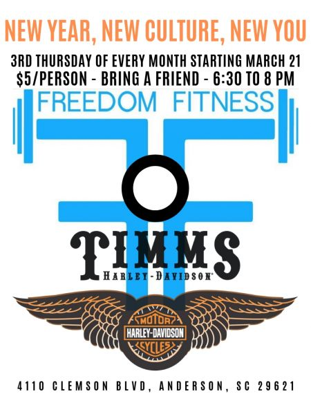 Freedom Fitness Workout at Timms H-D