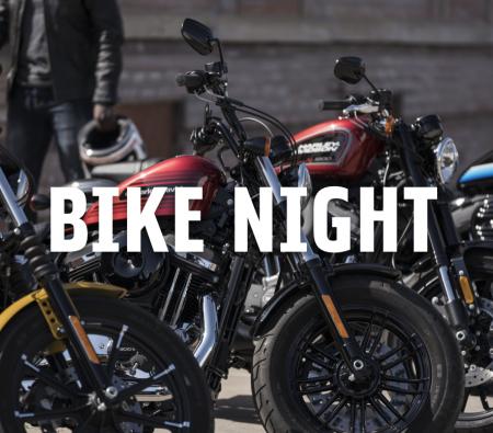 Bike Night at Sacajewea Hotel