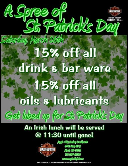 A Spree of St. Patrick's Day