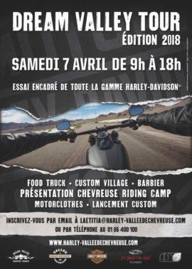 « Dream Valley Tour » le Samedi 7 avril dans votre concession !