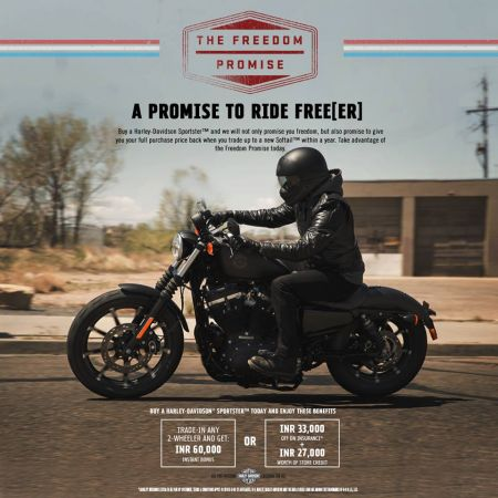 A PROMISE TO RIDE FREE(ER)   SPORTSTER™