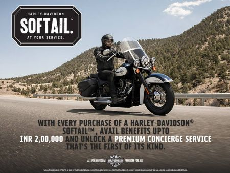 SOFTAIL® AT YOUR SERVICE   TUSKER HARLEY-DAVIDSON