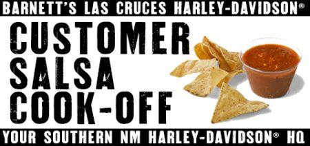Customer Salsa Cook-Off