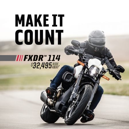MAKE IT COUNT FXDR 114 OFFER - $32,495