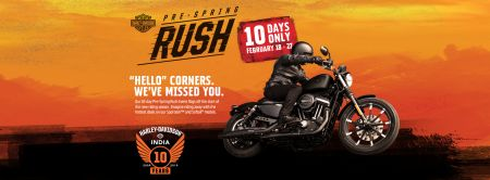 CELEBRATING 10 YEARS  | TUSKER HARLEY-DAVIDSON