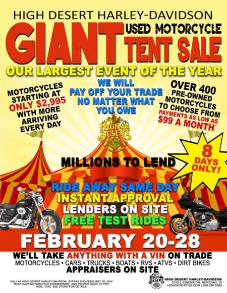 GIANT tent event