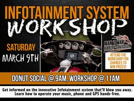Infotainment System Donut Social & Workshop