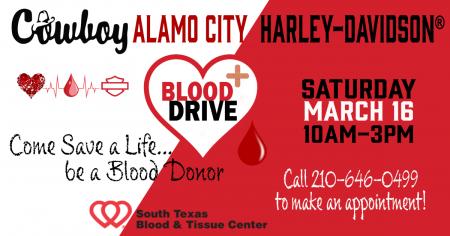 Blood Drive / Bone Marrow Donor Registry