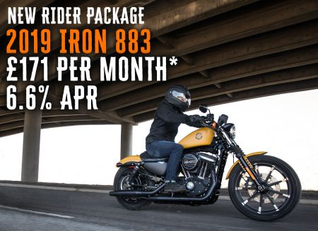 NEW RIDER PACKAGE IRON 883 £171 Per Month 6.6% APR