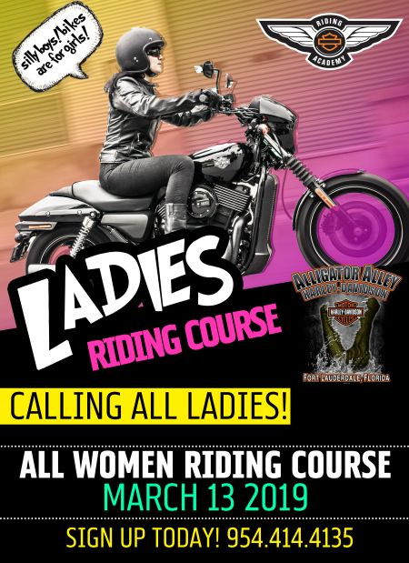Ladies Riding Course