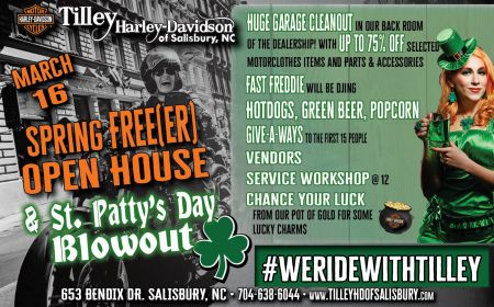Spring Free(er) / St. Patty's Day Blowout