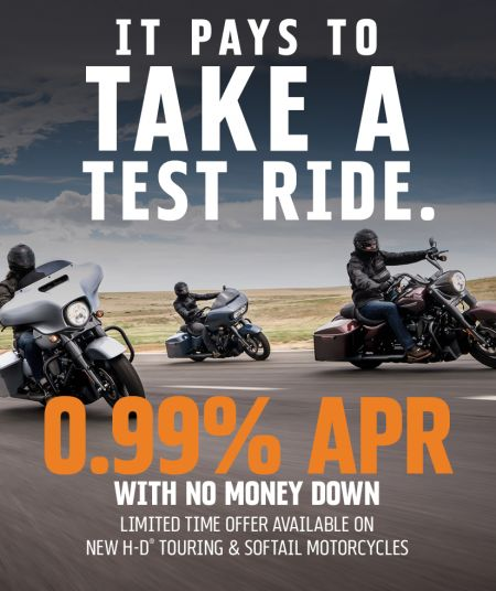 Touring Low APR Finance Offer