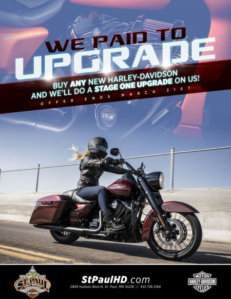 FREE Stage One Upgrade when you purchase a new bike!
