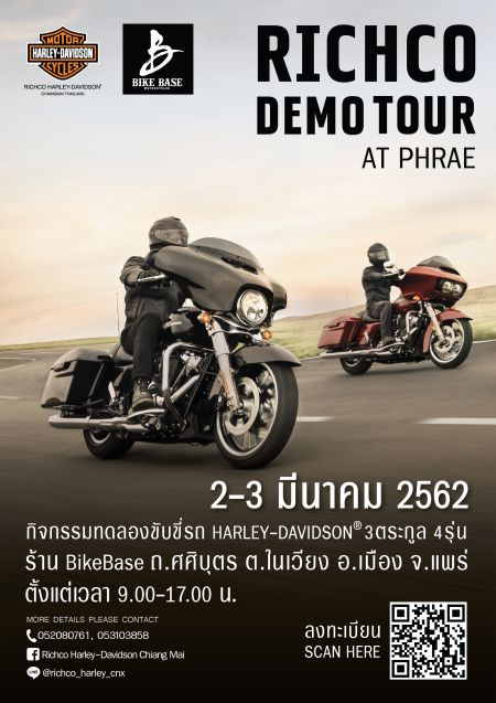 Richco Harley-Davidson Demo Tour in Phrae