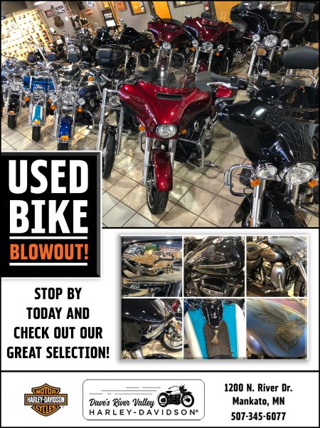 Used Bike Blowout