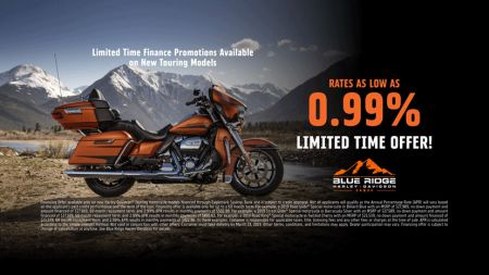 0.99% Financing on NEW Touring Models!