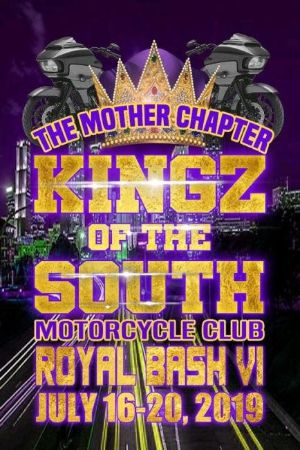 Kingz of the South Motorcycle Club Royal Bash VI