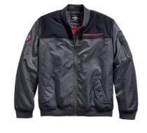 Ripstop Accent Bomber Jacket