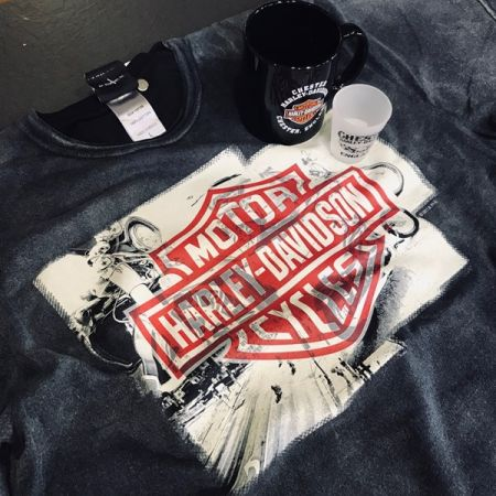 BUY ANY DEALER T-SHIRT & GET A FREE MUG OR SHOT GLASS