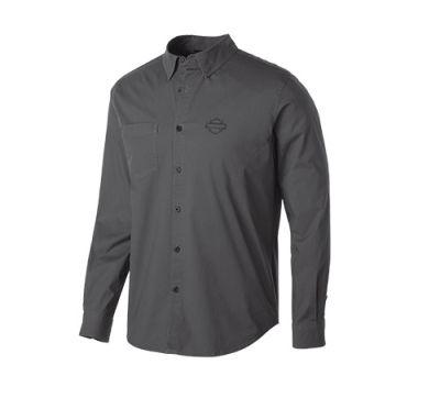 Men's Nine Iron Stretch Long Sleeve Slim Fit Shirt