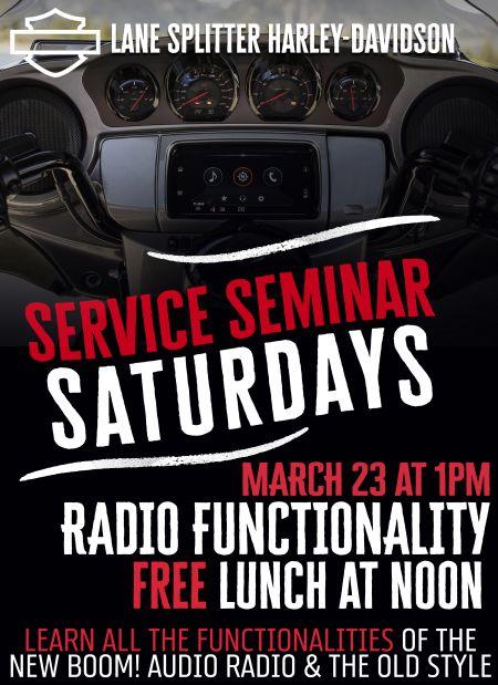 Seminar Saturday: Radio Functionality