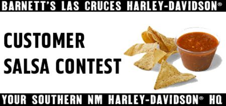 Customer Salsa Contest
