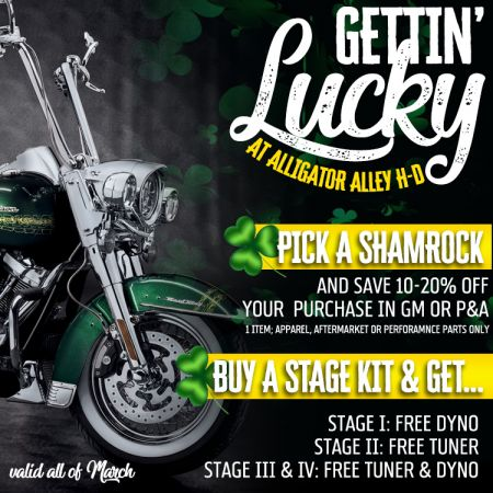 Gettin' Lucky All Month Long