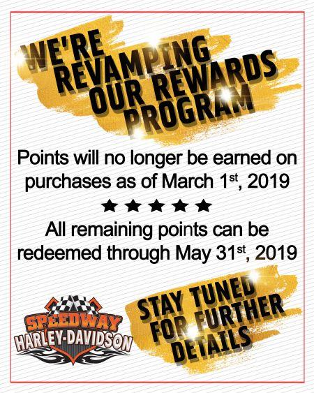Revamping Rewards