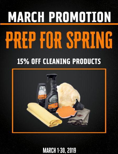March Parts Promo