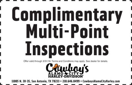 March Service Special - Complimentary Multi-Point Inspections