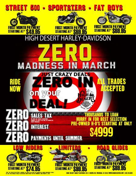 March Sales Promo