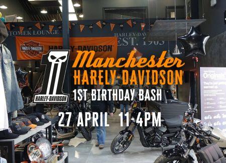 1st Birthday Bash - Manchester Harley-Davidson