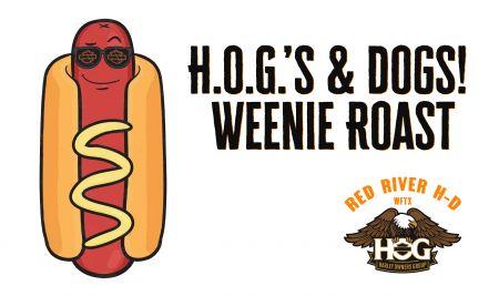 Red River H-D Local H.O.G. Chapter H.O.G.'s & dogs Weenie Roast