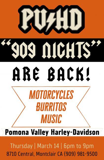 PVHD's 909 NIGHTS