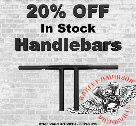 20% Off Handlebars